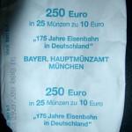 250 Euro 10 Euro FIS München D