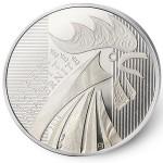 10 Euro Silbermünze Hahn