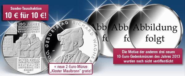 10 Euro Münzen Deutschland 2013