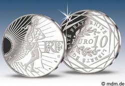 10 Euro Die Säerin / La Semeuse 2009 Silber