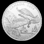 100 Dollar Weißkopfseeadler Silbermünze