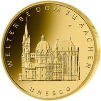 100 Euro Goldmünze Aachen
