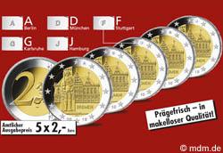 2 Euro Sondermünze Bremen 2010