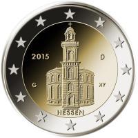 2 Euro Münze Hessen