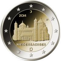 2 Euro Münze Michaeliskirche