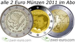2 Euro Sondermünzen 2011 Zum Sonderpreis Münzangebote