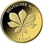 20 Euro Goldmünze Kastanie