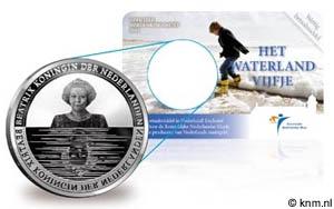 5 Euro Niederlande Waterland Coincard