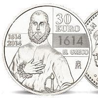 30 Euro Silbermünze El Greco