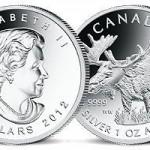1 Unze Elch Silbermünze