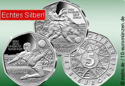 2x 5 Euro EM 2008 Österreich