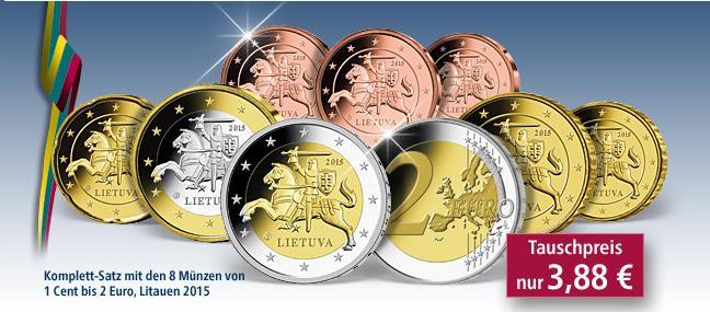 Euromünzen Satz Litauen Für 388 Euro Münzangebote