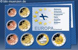 Euro Kursmünzensatz 2010 Finnland
