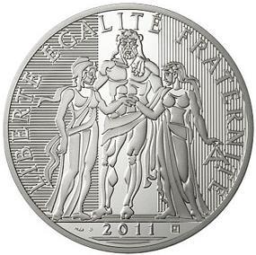 Herkules Silbermünze Frankreich