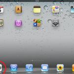 Homescreen vom iPad