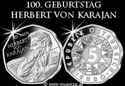5 Euro Herbert von Karajan