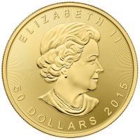 Maple Leaf Goldmünze