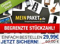 60 Euro Gutscheincode für MeinPaket.de