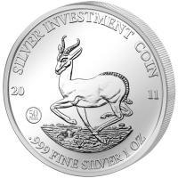 1 Unze Silber Springbock