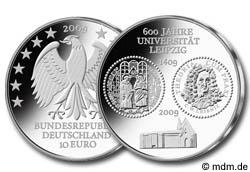 10 Euro Universität Leipzig