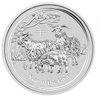 Ziege Silbermünze